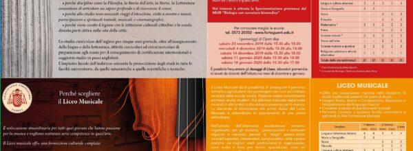 Brochure e volantino Forteguerri
